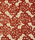 Casa Embellish Lace Sequin Fabric 50\u0022-Rose & Tango Red