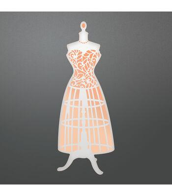 Couture Creations Nouveau Cut & Foil 1.4''x3.9'' Metal Die-Bodice