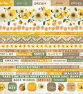 Golden Grove Cardstock Stickers 12\u0022X12\u0022 - 10 pack