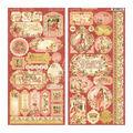 Princess Cardstock Stickers 12\u0022X12\u0022