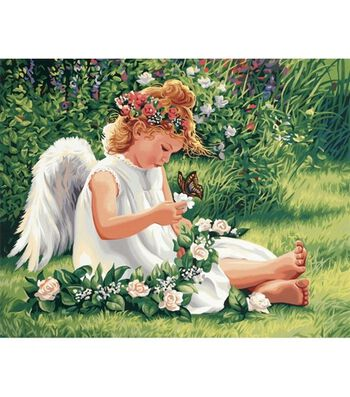Dimensions Paint By Number Kit 20X16-Darling Angel