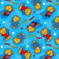 Disney Junior Daniel Tiger Cotton Fabric -Ugga Mugga