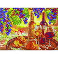 Diamond Dotz Diamond Embroidery Kit 30.75\u0027\u0027X23.5\u0027\u0027-Les Vins de Campagne