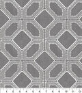 Home Decor 8\u0022x8\u0022 Fabric Swatch-Barraud Emb Pewter