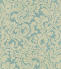 Waverly® Multi-Purpose Decor Fabric 55\u0022-Namaste Scroll/Pool