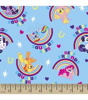 "Hasbro My Little Pony Cotton Fabric 43""-Rainbow, , hi-res"
