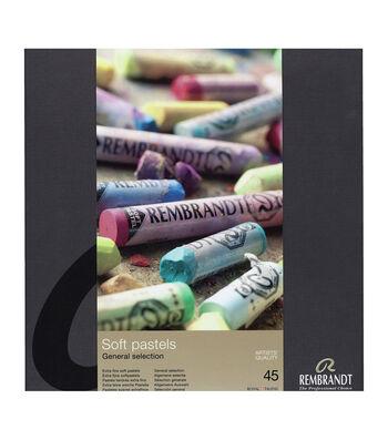 Rembrandt Full Stick Soft Pastels Set 45/Pkg-General Selection