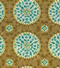 Home Decor 8\u0022x8\u0022 Fabric Swatch-Dena Johara Green Tea