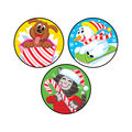 Holiday Pals-Peppermint Stinky Stickers 48 Per Pack, 6 Packs