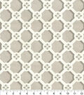 Home Decor 8\u0022x8\u0022 Fabric Swatch-P/K Lifestyles Trellis Caprice Pebble
