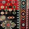 Snuggle Flannel Fabric-Geometric Southwest Aztec
