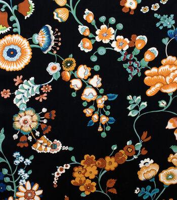 "Alexander Henry Cotton Fabric 44""-Speranza Black"