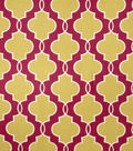Home Decor 8\u0022x8\u0022 Fabric Swatch-Upholstery Fabric Eaton Square Grace Passion