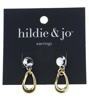 hildie & jo Silver & Gold Earrings