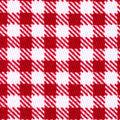 Sportswear Stretch Twill Fabric 57\u0027\u0027-Red & White Mini Checks