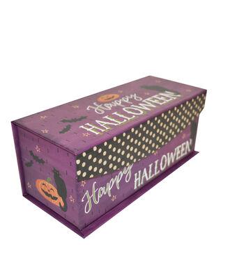 Organizing Essentials X-Small Fliptop Storage Box-Haunted Halloween