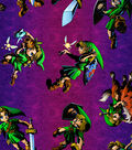 Nintendo The Legend of Zelda Cotton Fabric -Toss