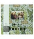 Park Lane 12\u0027\u0027x12\u0027\u0027 Scrapbook Album-Map & Life is a Journey