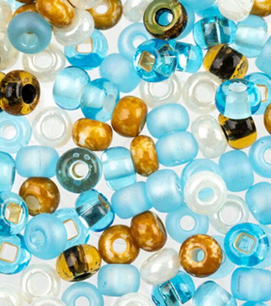 Glass Bead Tube 24g 2//0 White Mix 766068920314