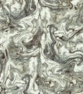 HGTV Home Upholstery Fabric 54\u0022-Marbleized Zinc