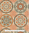 P/K Lifestyles Outdoor Fabric 54\u0022-Color Wheel Poppy