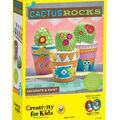 Creativity for Kids Cactus Rocks Craft Kit