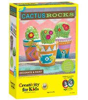 Creativity for Kids Cactus Rocks Craft Kit, , hi-res