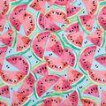 Novelty Cotton Fabric -Watermelon