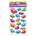 Car-Toons superShapes Stickers-Large 6 Packs