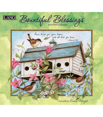 2019 Wall Calendar Bountiful Blessings