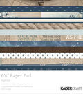 Kaisercraft Paper Pad 6.5\u0022X6.5\u0022-High Tide