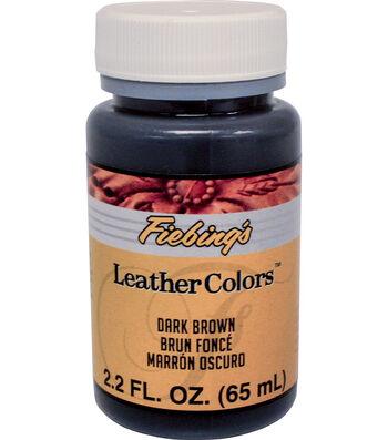 Fiebings Leather Dye 2oz-Dark Brown