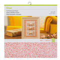 Cricut Foil Embossed Paper-Pink & White