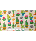 Anti-Pill Fleece Fabric -Cactus Party