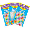 Colorful Sparkle Stars superShapes Stickers Value Pack 3pk