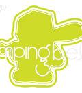 Stamping Bella 3.13\u0027\u0027x2.63\u0027\u0027 Cut it Out Die-Baseball Squidgy