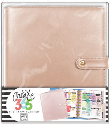 Create 365 The Happy Planner™ Classic Deluxe Cover-Rose Gold