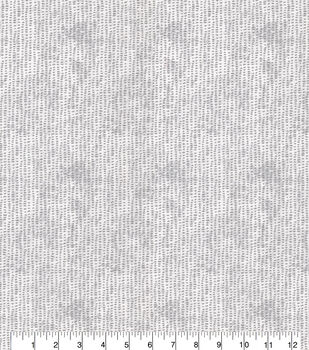 Keepsake Calico Cotton Fabric-Mini Brush Stroke White