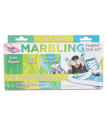 Tulip Marbling Fabric Dye Kit-Lagoon