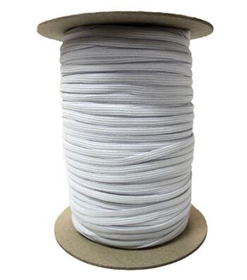 """Pellon 1/4"""" x 288yd Spool  Knit Elastic- White"""