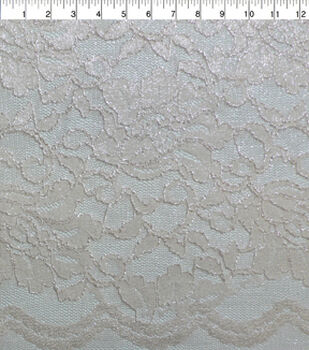 Casa Collection Stretch Lace Fabric -Rosewater
