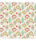 Mistletoe Spot Varnish Cardstock 12\u0022X12\u0022-Decorations