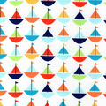 Snuggle Flannel Fabric -Baby Sailboats