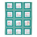 Jack Dempsey Needle Art 9\u0027\u0027x9\u0027\u0027 Theme Stamped Quilt Blocks-Happy Campers