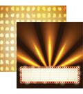 Movie Night Double-Sided Cardstock 12\u0022X12\u0022-Marquee