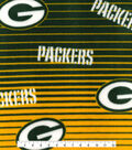 Green Bay Packers Fleece Fabric -Linear