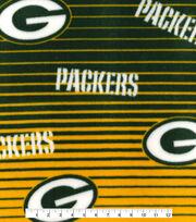 Green Bay Packers Fleece Fabric -Linear, , hi-res
