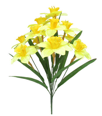 Fresh Picked Spring 19'' Daffodil Bush-Yellow