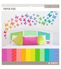 K&Company Basics Paper Pad Brights 12\u0027\u0027x12\u0027\u0027
