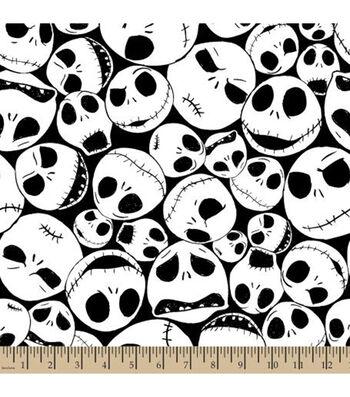 """Nightmare Before Christmas Halloween Fleece Fabric 59""""-Packed Jack"""
